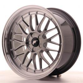 JR Wheels JR23 19×8,5 ET35-50 5H BLANK Hyper Black w/Machined Lip
