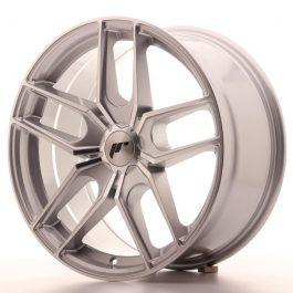 JR Wheels JR25 18×8,5 ET20-40 5H BLANK Silver Machined Face