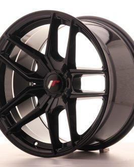JR Wheels JR25 18×9,5 ET20-40 5H BLANK Gloss Black