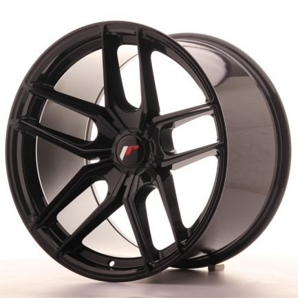 JAPAN RACING JR Wheels JR25 19x11 ET40 5H BLANK Gloss Black 11.00x19