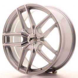 JR Wheels JR25 20×8,5 ET20-40 5H BLANK Silver Machined Face