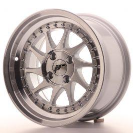 JR Wheels JR26 15×8 ET15 4×100 Silver Machined Face