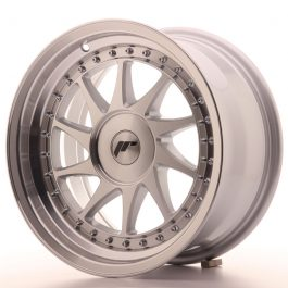 JR Wheels JR26 16×8 ET10-30 BLANK Silver Machined Face
