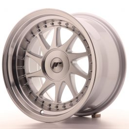 JR Wheels JR26 16×9 ET0-25 BLANK Silver Machined Face
