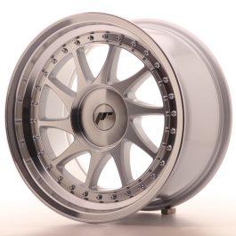 JR Wheels JR26 17×9 ET20-35 BLANK Silver Machined Face