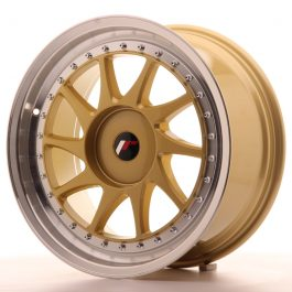 JR Wheels JR26 18×8,5 ET35-40 BLANK Gold w/Machined Lip