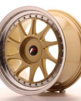 JR Wheels JR26 18×9,5 ET20-40 BLANK Gold w/Machined Lip