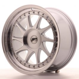 JR Wheels JR26 18×9,5 ET20-40 BLANK Silver Machined Face