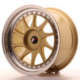 JR Wheels JR26 18×9,5 ET35-40 BLANK Gold w/Machined Lip