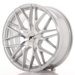 JR Wheels JR28 18×7,5 ET20-40 BLANK Silver Machined Face