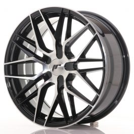 JR Wheels JR28 18×7,5 ET40 BLANK Gloss Black Machined Face