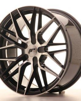 JR Wheels JR28 18×8,5 ET20-40 5H BLANK Gloss Black Machined Face