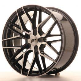 JR Wheels JR28 18×8,5 ET40 5H BLANK Gloss Black Machined Face