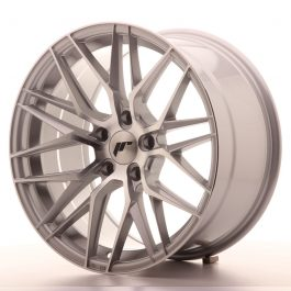 JR Wheels JR28 18×9,5 ET35 5×120 Silver Machined Face