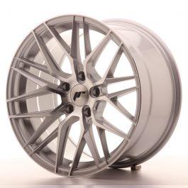 JR Wheels JR28 18×9,5 ET40 5×112 Silver Machined Face