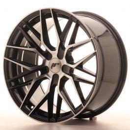 JR Wheels JR28 19×9,5 ET35-40 5H BLANK Gloss Black Machined Face