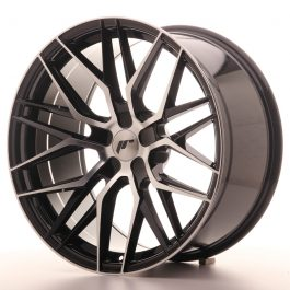 JR Wheels JR28 20×10 ET20-40 5H BLANK Gloss Black Machined Face