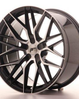 JR Wheels JR28 20×10 ET20-40 5H BLANK Gloss Black Machined Face 4kpl