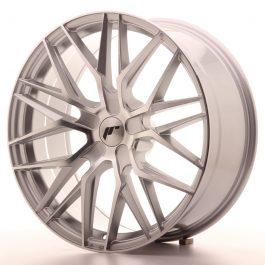 JR Wheels JR28 20×8,5 ET20-40 5H BLANK Silver Machined Face