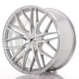 JR Wheels JR28 21×10,5 ET15-55 5H BLANK Silver Machined Face
