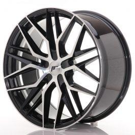 JR Wheels JR28 22×10,5 ET15-50 5H BLANK Gloss Black Machined Face