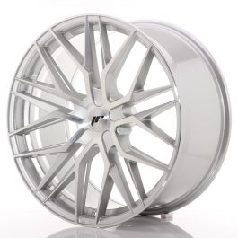 JR Wheels JR28 22×10,5 ET15-50 5H BLANK Silver Machined Face