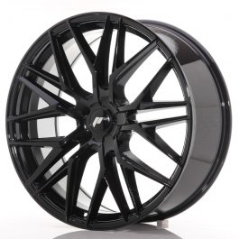 JR Wheels JR28 22×9 ET30-45 5H BLANK Gloss Black