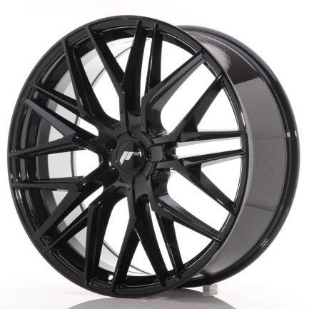 JAPAN RACING JR Wheels JR28 22x9 ET30-45 5H BLANK Gloss Black 9.00x22