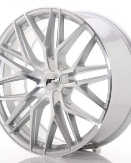JR Wheels JR28 22×9 ET30-45 5H BLANK Silver Machined Face