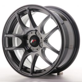 JR Wheels JR29 15×7 ET20-42 4H BLANK Hyper Black