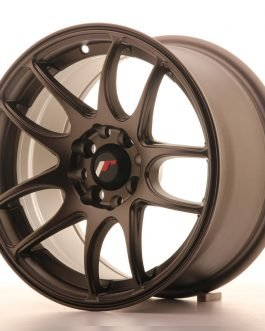JR Wheels JR29 15×8 ET28 4×100/108 Matt Bronze