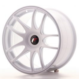 JR Wheels JR29 17×9 ET20-38 BLANK White