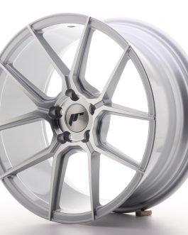 JR Wheels JR30 18×8,5 ET35 5×120 Silver Machined Face