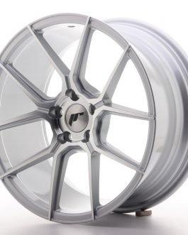 JR Wheels JR30 18×8,5 ET40 5×112 Silver Machined Face