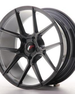 JR Wheels JR30 18×8,5 ET20-40 5H BLANK Hyper Black