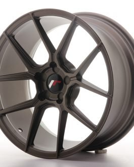 JR Wheels JR30 18×8,5 ET20-40 5H BLANK Matt Bronze