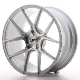 JR Wheels JR30 18×8,5 ET20-40 5H BLANK Silver Machined Face
