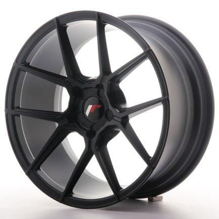 JAPAN RACING JR Wheels JR30 18x8,5 ET40 5H BLANK Matt Black 8.50x18