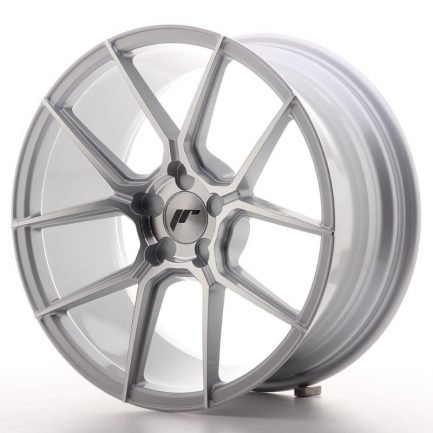 JAPAN RACING JR Wheels JR30 18x8,5 ET40 5H BLANK Silver Machined Face 8.50x18