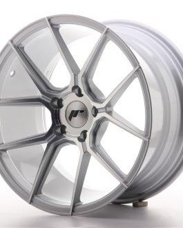 JR Wheels JR30 18×9,5 ET35 5×120 Silver Machined Face