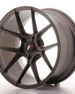 JR Wheels JR30 18×9,5 ET20-40 5H BLANK Matt Bronze