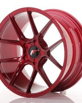 JR Wheels JR30 18×9,5 ET20-40 5H BLANK Platinum Red