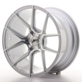 JR Wheels JR30 18×9,5 ET20-40 5H BLANK Silver Machined Face