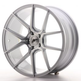 JR Wheels JR30 19×8,5 ET35 5×120 Silver Machined Face