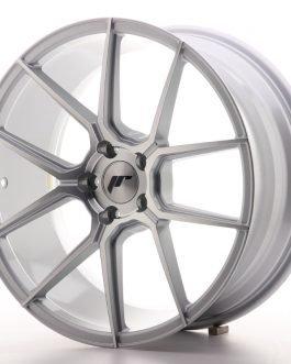 JR Wheels JR30 19×8,5 ET35 5×120 Silver Machined Face