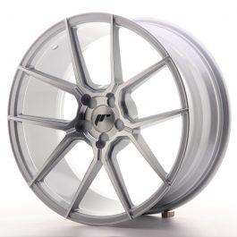 JR Wheels JR30 19×8,5 ET20-43 5H BLANK Silver Machined Face