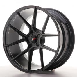 JR Wheels JR30 20×10 ET20-40 5H BLANK Hyper Black