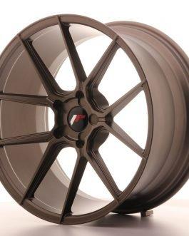 JR Wheels JR30 20×10 ET20-40 5H BLANK Matt Bronze