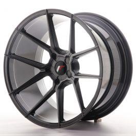 JR Wheels JR30 20×11 ET20-30 5H BLANK Hyper Black