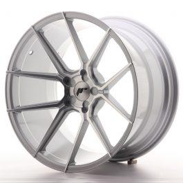 JR Wheels JR30 20×11 ET20-30 5H BLANK Silver Machined Face